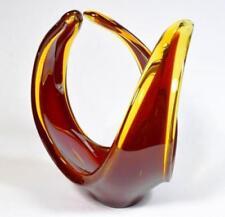 Murano Sommerso Red Italian Art Glass