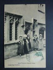 VIC SUR SEILLE  Moselle CPA 57 de jeunes vicoises en costumes lorrain