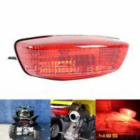 Red Lens Brake Tail Light Assembly Light Bulb For Suzuki QuadSport Z250 LT-Z250