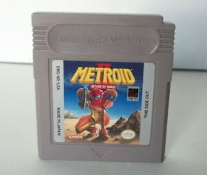 Metroid II 2 Return of Samus (Nintendo Game Boy) Good Label Authentic Gameboy GB