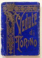 Vedute di Torino Litografia Marchisio e Figli s.d. Fine '800 Primo '900