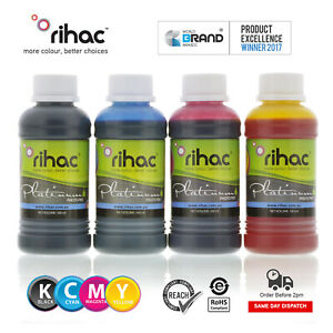 RIHAC Refill ink for CISS suits Epson 132 133 138 140 cartridges Workforce 7520