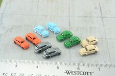 10 Volkswagen Beetle Cars 1:160  N Scale (N3)