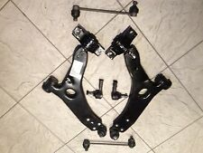 FORD FOCUS MK 1 98-04 TWO FRONT WISHBONE ARMS TWO LINKS & 2 TWO TRACK ROD ENDS