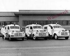Photograph of Permanente Foundation Hospital GMC Ambulance Year 1945c  8x10