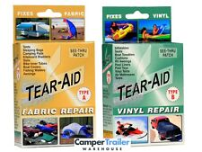 Tear Aid Retail Kits (Type A) + (Type B) Repair PVC, Canvas, Vinyl, Leather