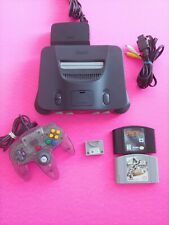 Nintendo 64 Console Bundle N64 ALL OEM - Controller - Games- Tested - Working 50