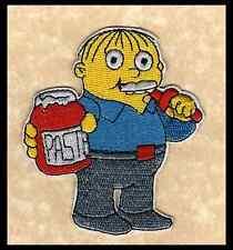 📺The Simpsons TV Show Cartoon RALPH RALPHIE WIGGUM Eat Glue/Paste Iron-on Patch