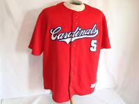Albert Pujols St Louis Cardinals Jersey Large