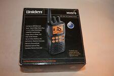 Uniden MHS75 Waterproof Handheld 2-Way VHF Marine radio