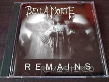 BELLA MORTE - Remains CD Dark Wave / Goth Rock USA