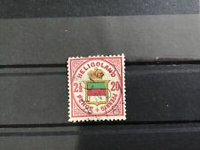 Heligoland 1875 used 20pf cat 120   stamp R30514