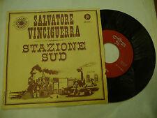 """SALVATORE VINCIGUERRA""""STAZIONE SUD-disco 45 giri JB 1966"""" BEAT It"""