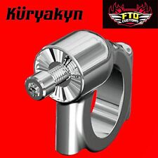 Kuryakyn Mount Clamps for Side Mount License Plate Holders for Softails 3188
