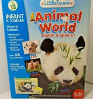 Little Touch LeapPad, ANIMAL WORLD, ENGLISH AND SPANISH, OVER 120 ACTIVITIES