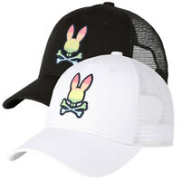 Psycho Bunny Embossed Baseball Bermuda Blue Men/'s Cap B6A977E1HT-BMB One Size