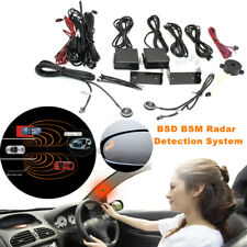 Car Bike Blind Spot Mirror BSD BSM Radar Detection Alarm System Microwave Sensor