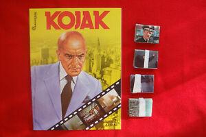 """AMERICANA MÜNCHEN VERLAG KOMPLETTER SATZ+LEER-ALBUM """"KOJAK"""" UNGEKLEBT von 1977"""
