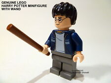 LEGO 'HARRY POTTER' GENUINE MINIFIGURE CASUAL CLOTHES + WAND HP116 NEW