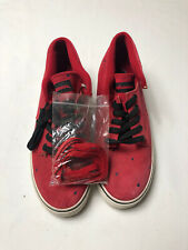 The Hundreds Shoes Johnsons Mids Size 9.5 Brand New Red