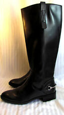 NEW W/ TAGS WOMEN'S SZ 9 SAM & LIBBY PERRY BLK EQUESTRIAN BOOTS  ORIG 49.99