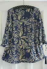 Next Cotton Tunic/Top Size 14 Maternity/Blue