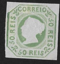 Portugal 1864 50r Mint No Gum Very Fine - Guaranteed Genuine