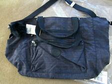 "Kipling ISAAC 23.5"" Extra Large Tote/Travel Bag/Trolley Sleeve Modern Hound Blue"