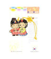 Traditional Korean reader Metal Bookmark - Young kids03