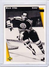 BOSTON BRUINS UPPER DECK 1998 WILLIE O'REE COMMEMORATIVE CARD #22