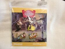 Disney Snow White And The Seven Dwarves Pin Set Nip