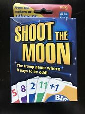 Shoot the Moon Card Game from Fundex 2004 Opened Box - Sealed Content