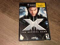 X-Men The Official Game Nintendo Gamecube Complete CIB Authentic