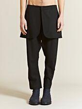 THAMANYAH  SS12 Demi Costume Black Pants Sz 42 Rick Owens Protege