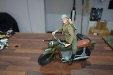 VINTAGE ACTION MAN CHERILEA German motorcycle & 1964 rider excellent GI JOE
