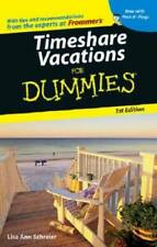 Timeshare Vacations For Dummies (Dummies Travel) - Paperback - GOOD