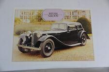 1935 ss1 Saloon JAGUAR DAIMLER Heritage Trust Oldtimer prospectus 5.1 1148 dl3