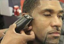 Barber Pencil White/Black Sharpener Tracer Outlining Shaving Define Beard Line