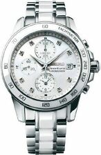 Stainless Steel Band Seiko Sportura Watches with Chronograph