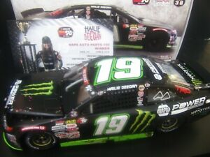 Hailie Deegan 2019 Colorado Win Monster Camry 1/24 NASCAR K&N Pro Series