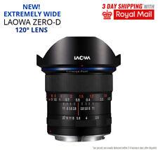 LAOWA ZERO-D 12mm f2.8 Lens NEW Ultra Wide Angle Zero Distortion For Canon EF