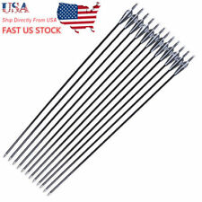 "Us 12pc30""Arrows Hunting Fiberglass Shaft Sp500 F Compound Sporting Bow Archery"