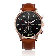 Fashion Men's Business Watches Stainless Steel Analog Quartz Sport Wrist Watch