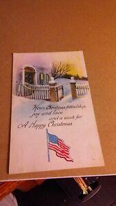 Three old patriotic postcards  (Lot 70321F)
