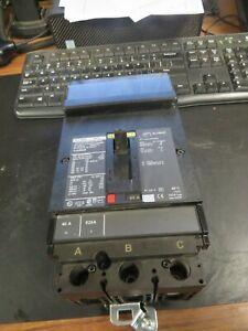 SQUARE D 40 AMP, 3 POLE, 600 VOLT HJA36040 CIRCUIT BREAKER (VERY NICE)