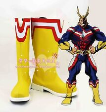 Anime My Hero Academia All Might cosplay shoes Boots Custom Made