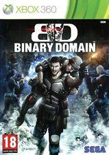 NEUF - jeu BINARY DOMAIN pour XBOX 360 en francais game spiel juego gioco NEW