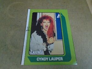CYNDY LAUPER   POSTER   3 BY 5