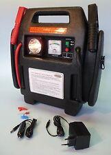 Starthilfe Powerpack Jumpstarter 900 Amp + Kompressor für 12Volt oder 220V  7102