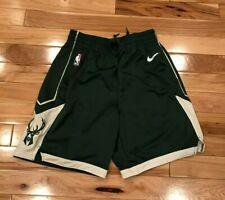 46184f85529 Nike Milwaukee Bucks Icon Edition Swingman Shorts AJ5623 323 Men's LARGE